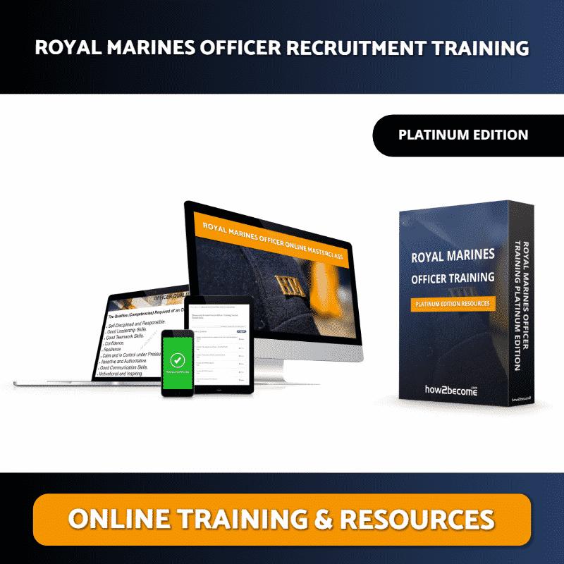 Royal Marines Officer Online Training Masterclass Platinum Edition