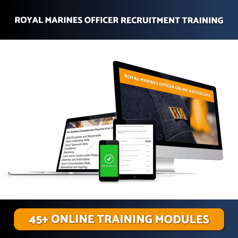 Royal Marines Officer Online Training Masterclass