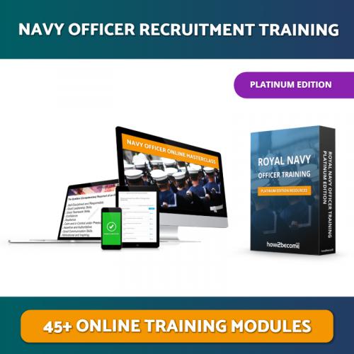 Royal Navy Officer Recruitment Masterclass Platinum