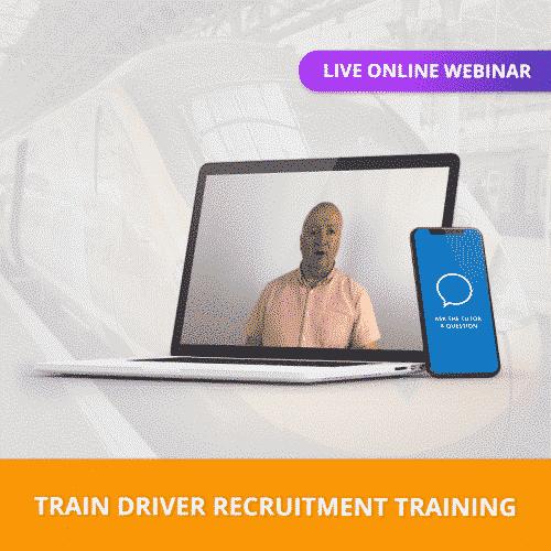 Train Driver Live Online Webinar Training