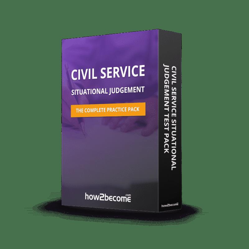 Civil Service Situational Judgement Test Pack Download