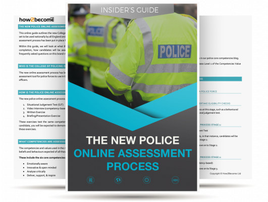 New Police Online Assessment Process Guide