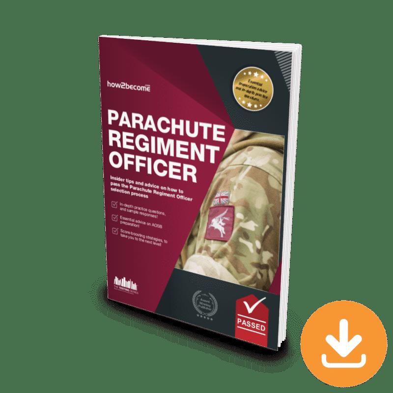 Parachute Regiment Officer Download