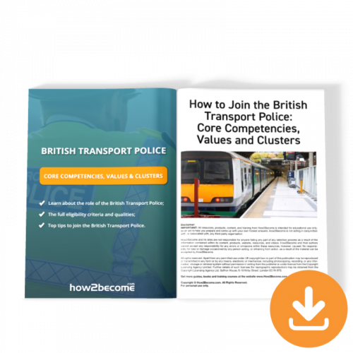 British Transport Police Competencies and Values Download