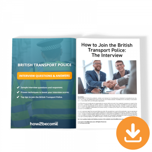 British Transport Police Interview Questions and Answers Download