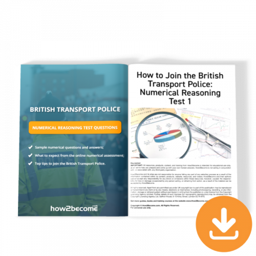 British Transport Police Numerical Reasoning Test Questions Download