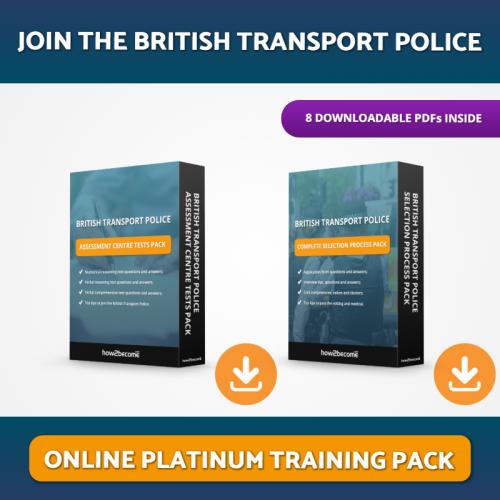 Join the British Transport Police Platinum Pack Download