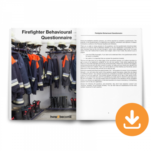 Firefighter Behavioural Questionnaire Download