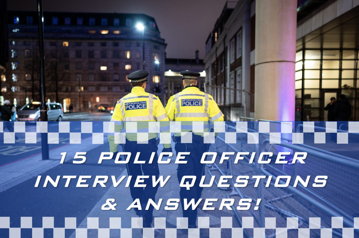 15 Tough Police Officer Intevriew Questions and Answers PDF