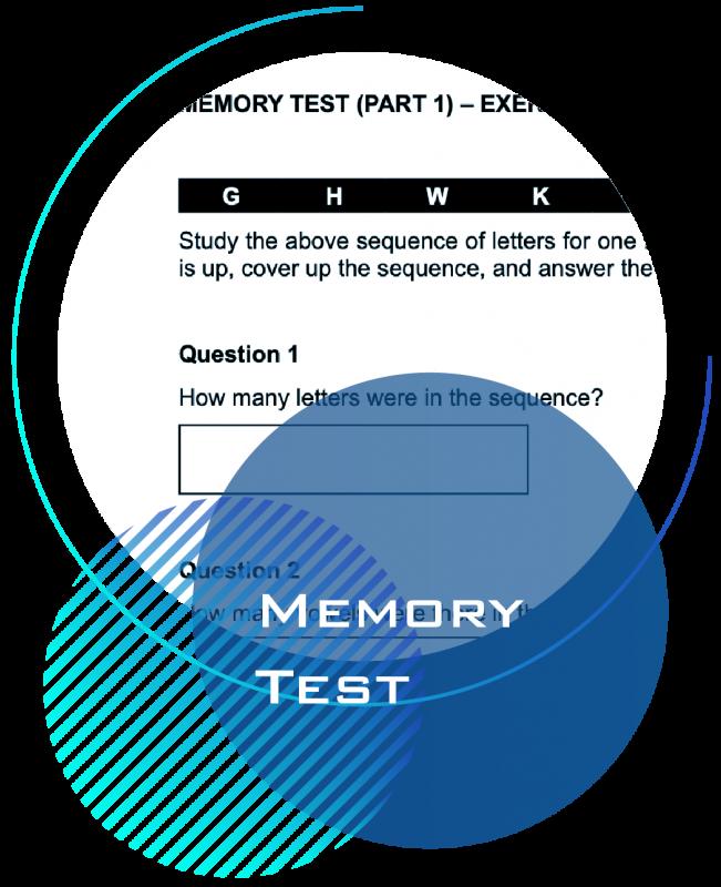 Memory Test Practice