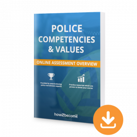 Police Online Assessment Process Competencies and Values PDF Download