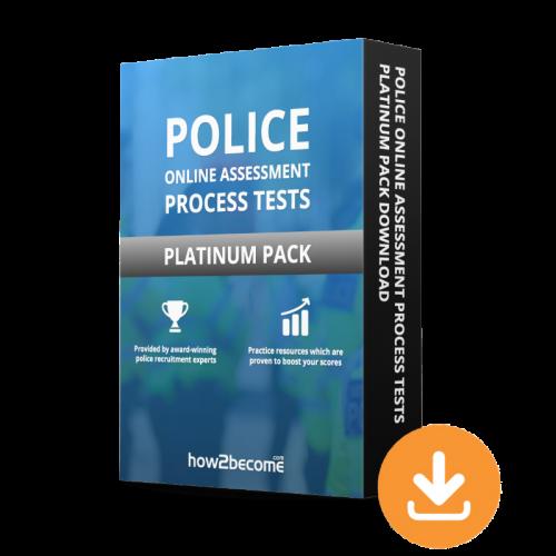 Police Online Assessment Process Tests Platinum Pack Download