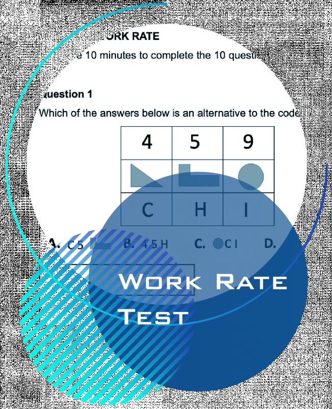 Work Rate AST Practice