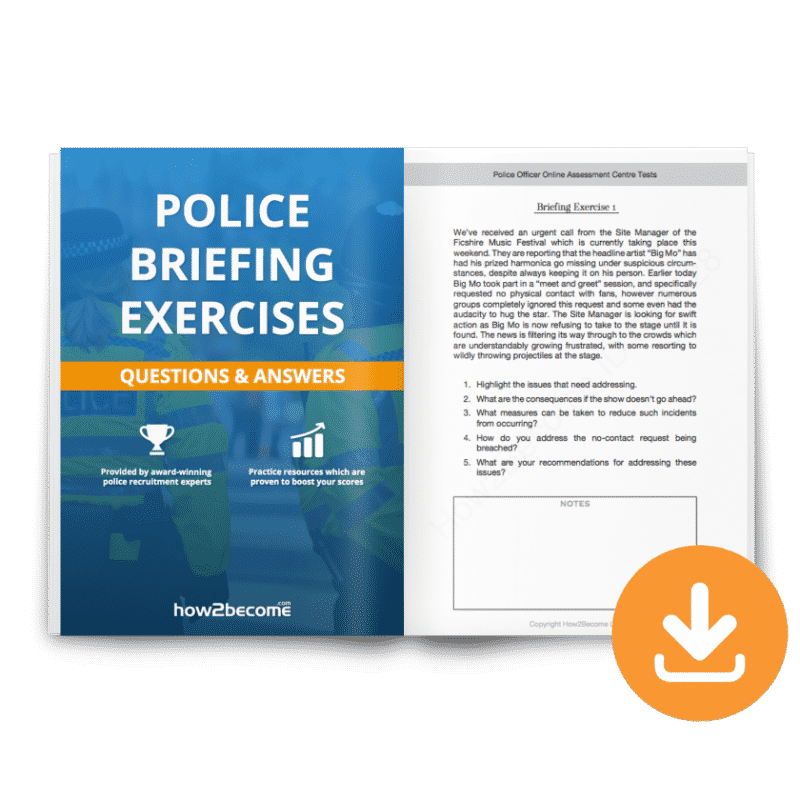 Police Briefing Exercises Download