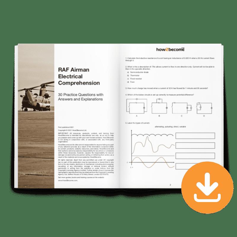 RAF Airman Electrical Comprehension Download