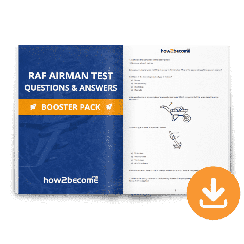RAF Airman Test Questions & Answers Download