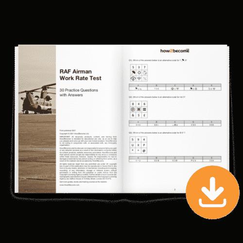 RAF Airman Work Rate Test Download