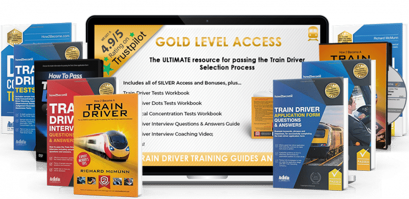 How to Become a Train Driver Gold Product Guide 3D