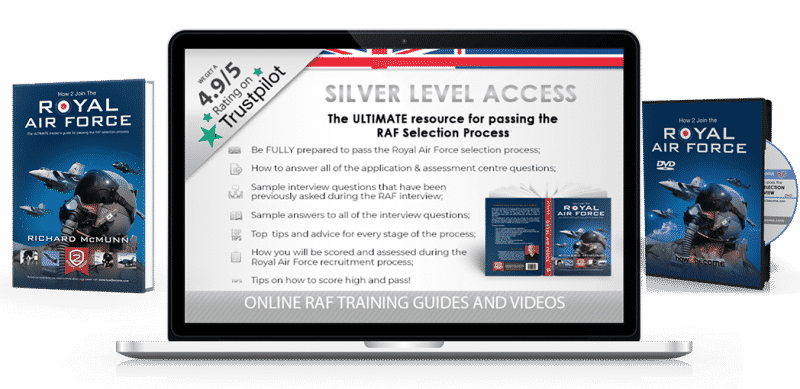 How to Join the RAF Silver Product Guide 3D