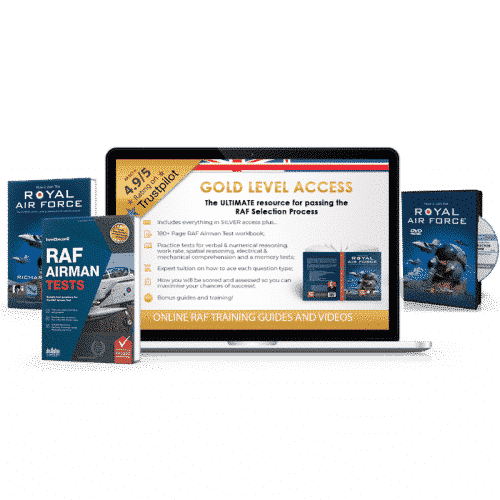 Online Access Royal Air Force Gold Pack