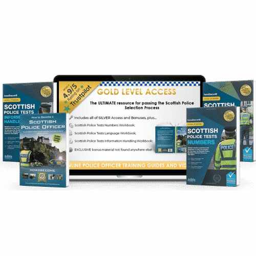 Online Access Scottish Police Officer Gold Pack