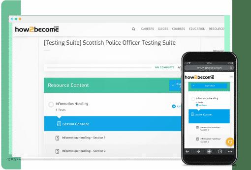 Scottish police officer test suite