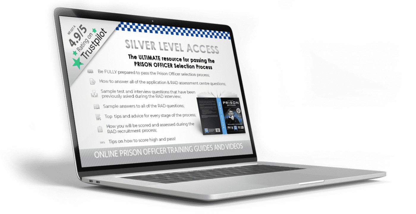 How to Become a Prison Officer and Pass the RAD Online Guide