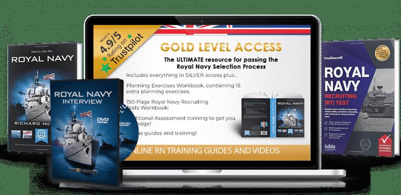 Royal Navy Recruitment Guide Gold Access
