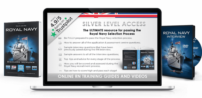 Royal Navy Careers Guide Silver Access