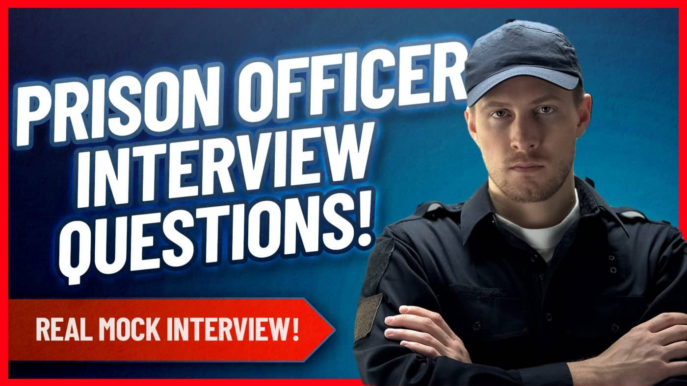 Prison Officer Mock Interview Questions and Answers