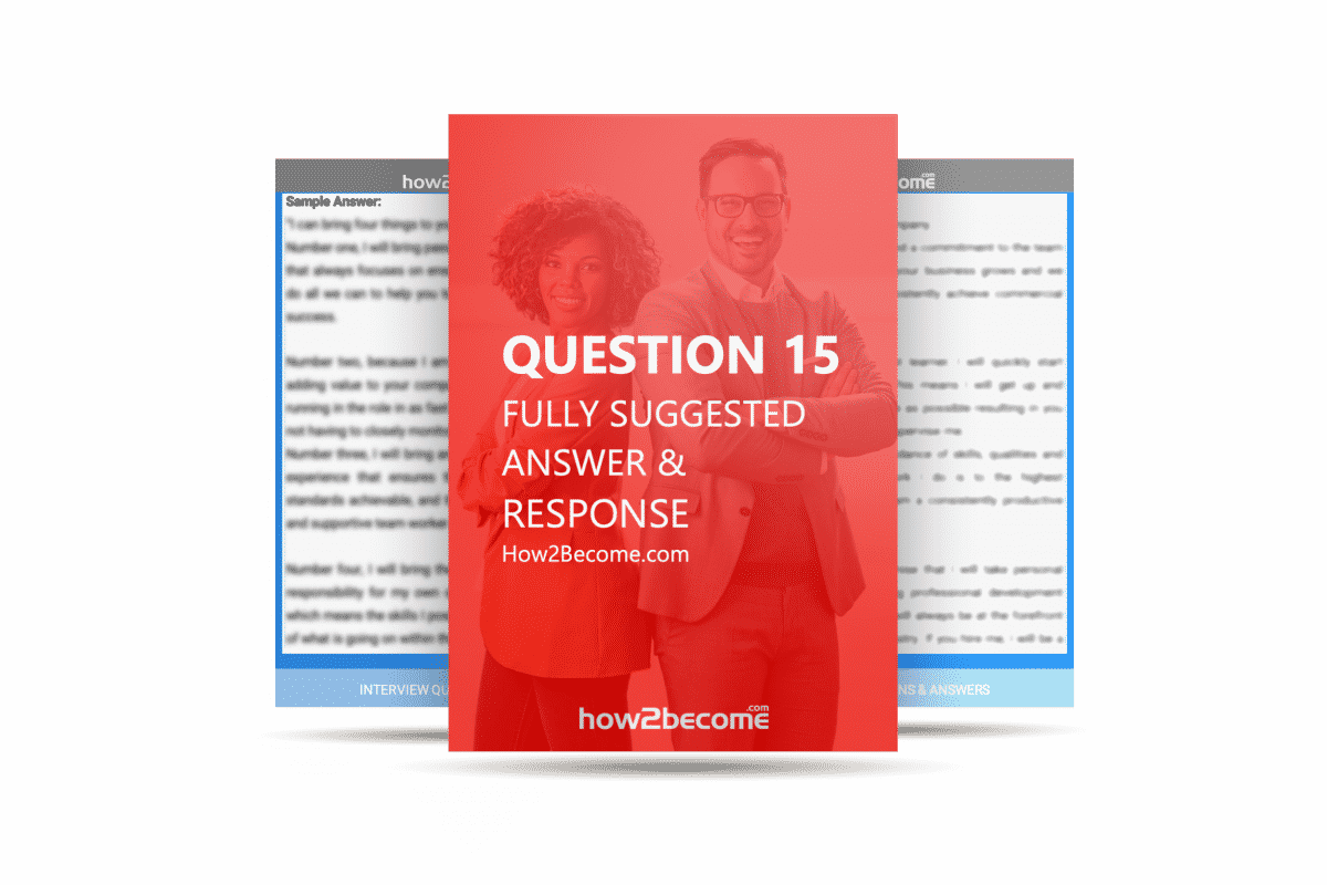 How2Become Interview Question and Answer 15