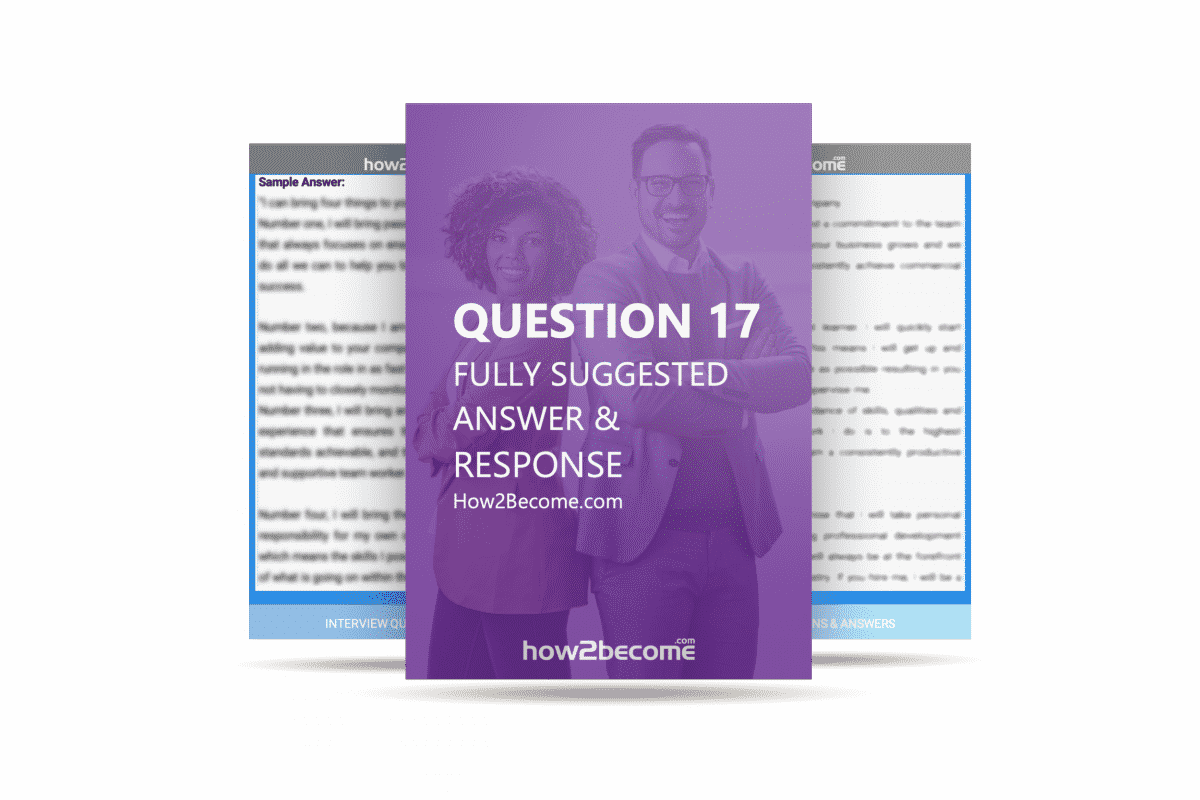 How2Become Interview Question and Answer 17