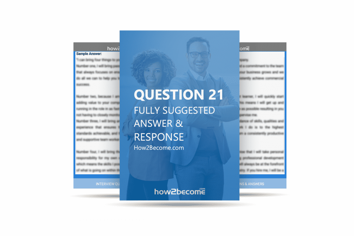 How2Become Interview Question and Answer 21