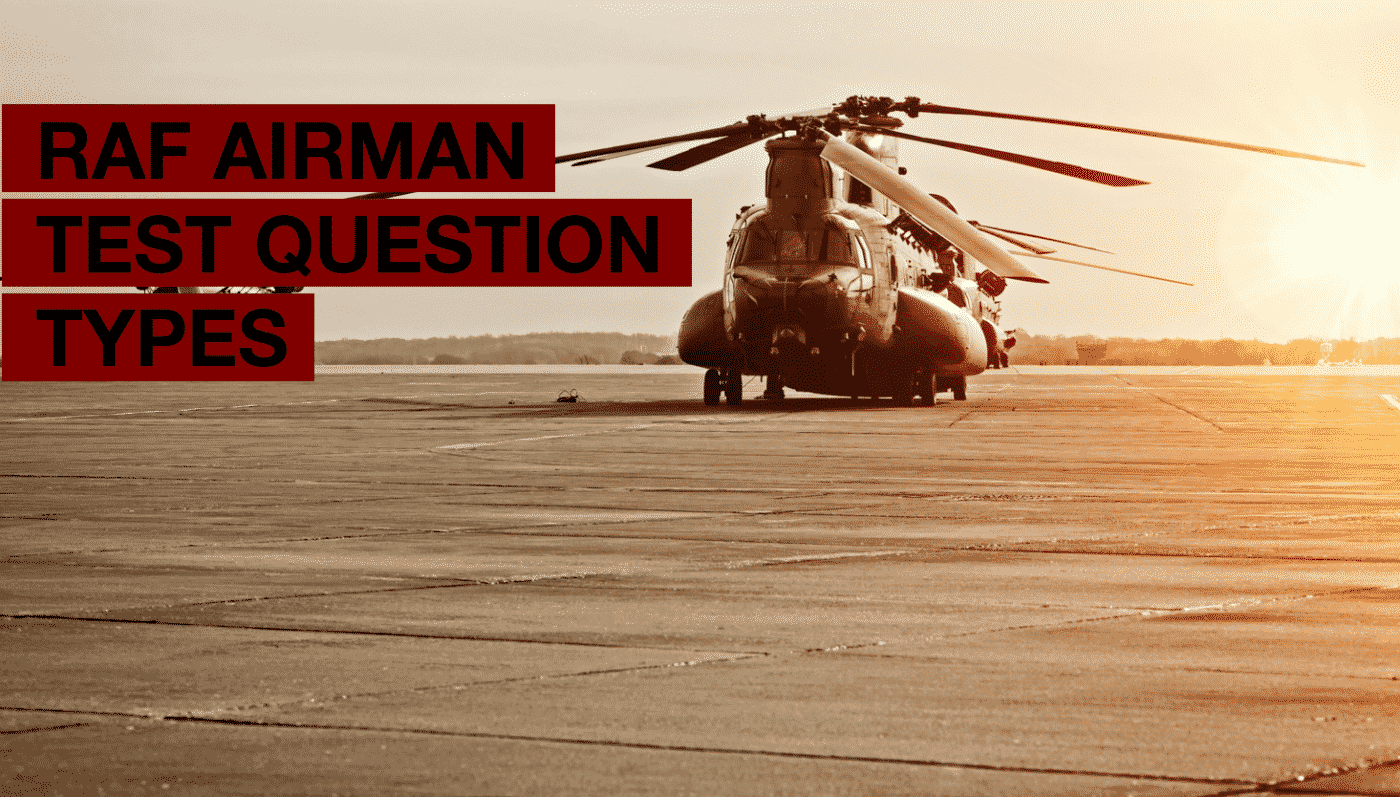How2Become RAF Airman Test Question Types