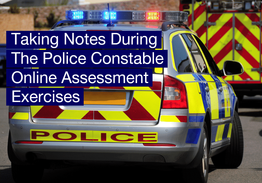 How2Become Taking Notes During The Police Constable Online Assessment Exercises