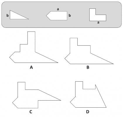 RAF Airman Spatial Reasoning Sample Question