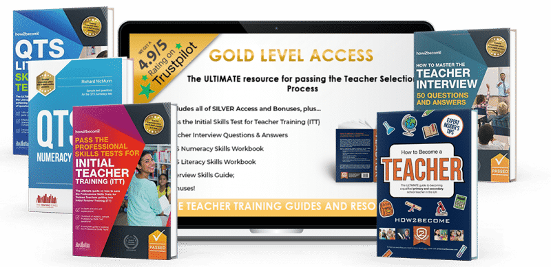become a teacher gold level resources