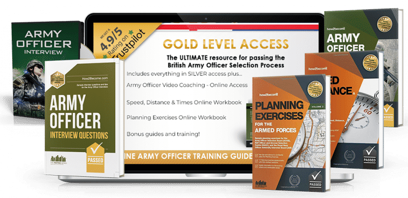 How to become an army officer