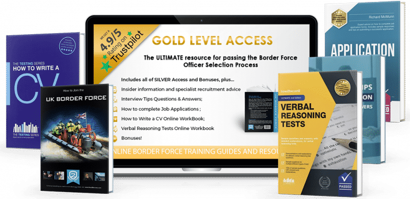 become a border force officer gold access