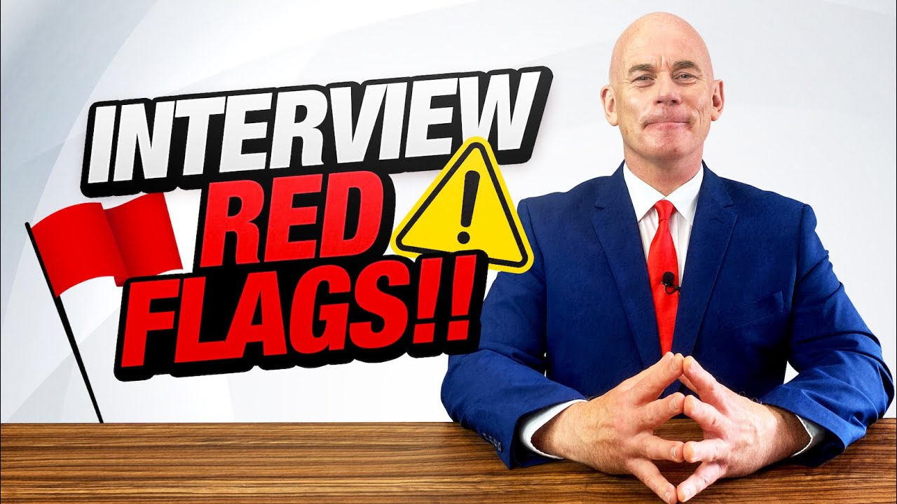 8 Job Interview Red Flags! (Signs of a Bad Employer!)