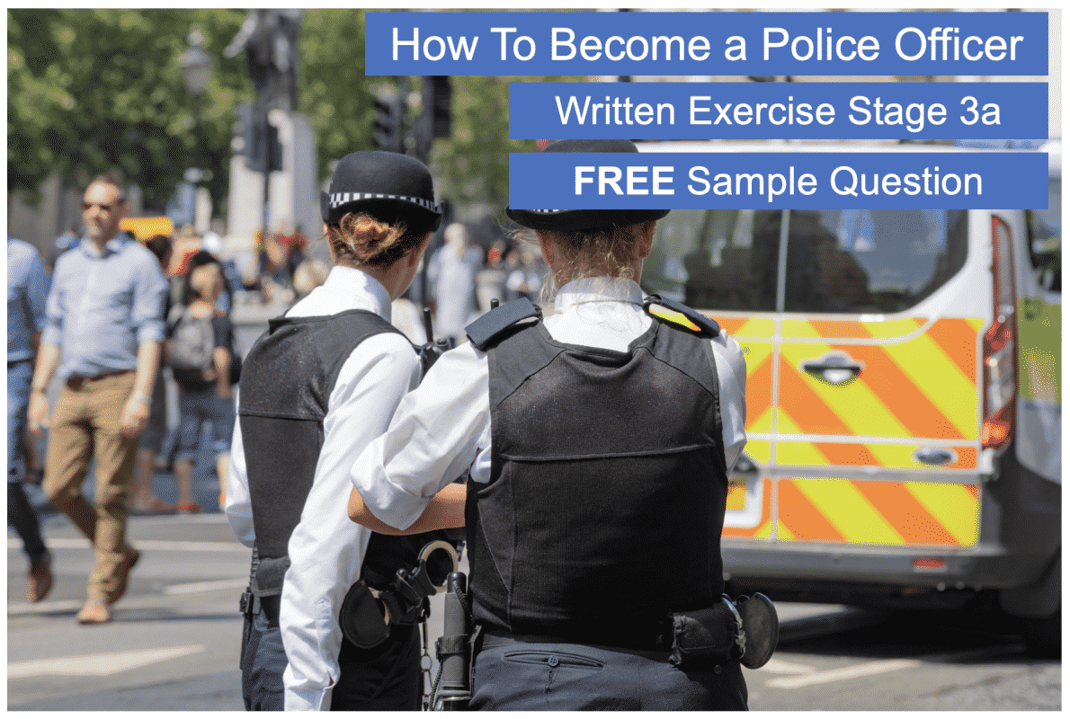 Police written exercise free practice exercise