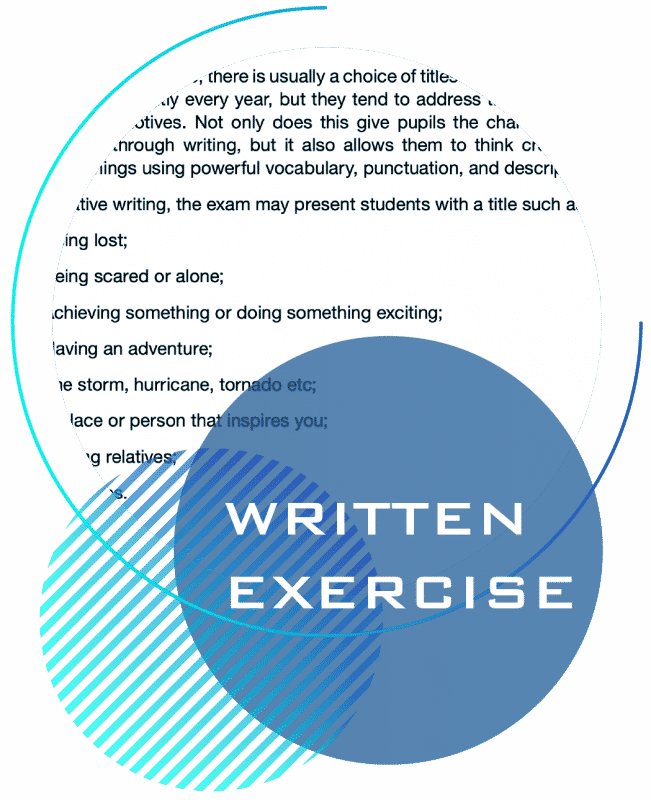 kent test written exercise