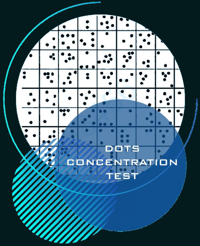 dots concentration test