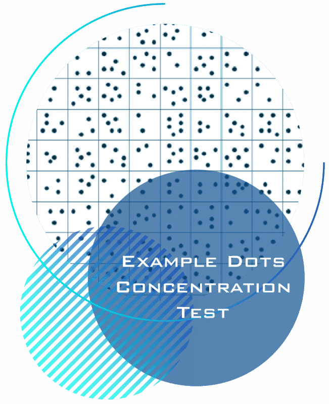 How2Become - Sample Dots Concentration Test